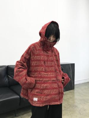 chic春装港风情侣bf oversize短外套