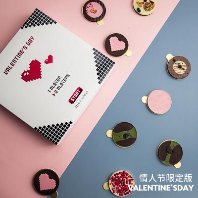 增味手工礼盒装9味情人节巧克力