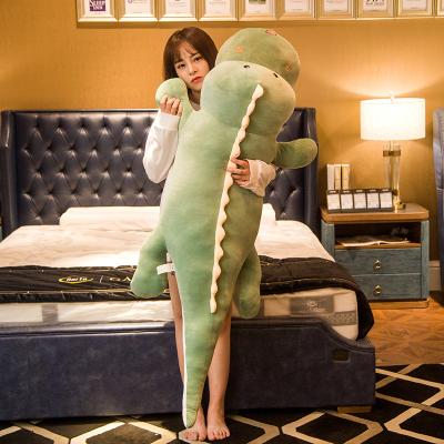 鳄鱼恐龙毛绒玩具懒人男朋友公仔