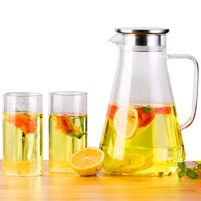 玻璃耐热高温防爆家用凉白开水杯