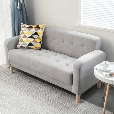 双人小户型卧室客厅网红租房沙发