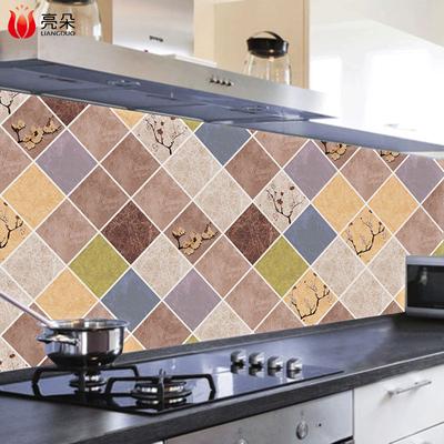 厨房防油贴纸自粘耐高温油烟机墙贴