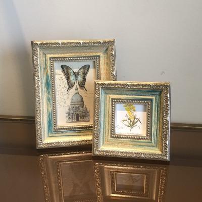 3寸复古美式客厅装饰组合包邮相框