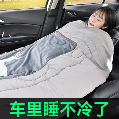 车用枕头被子两用一对汽车车载抱枕