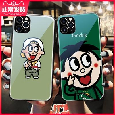 旺仔苹果x旺仔牛奶iphone11手机壳