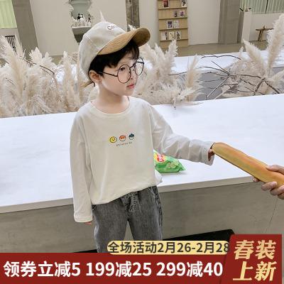男童t恤2020春装新款洋气潮打底衫