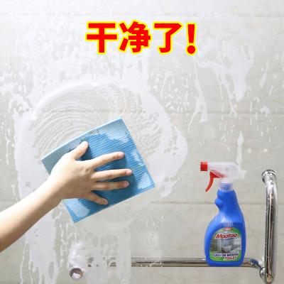 淋浴房擦窗玻璃水垢卫生间清洁剂