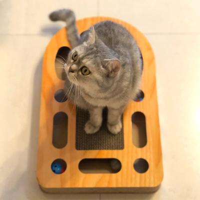 磨抓板瓦楞纸猫玩具磨爪器球猫抓板