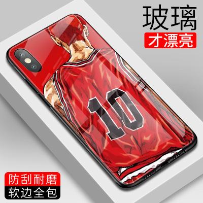 灌篮高手苹果11promax玻璃6s手机壳