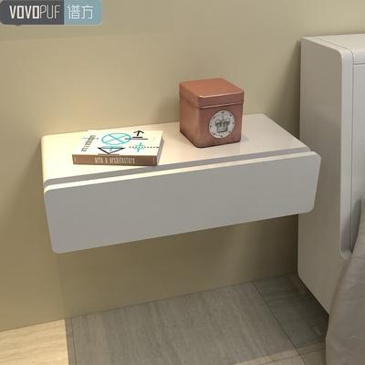 简约壁挂抽屉墙上梳妆台创意床头柜