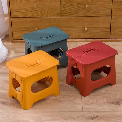 塑料简易椅子成人家用火车折叠凳子