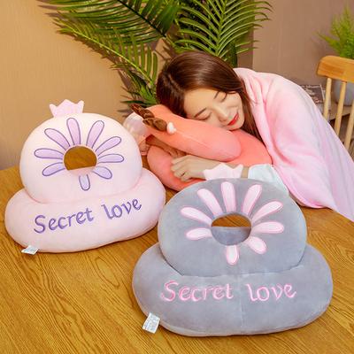 午睡枕抱枕学生趴趴枕办公室桌上午休小枕头女生趴着桌子睡觉神器