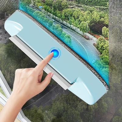 纱窗刷清洗神器擦玻璃免拆洗擦窗户清洁工具家用高楼窗户网双面刷