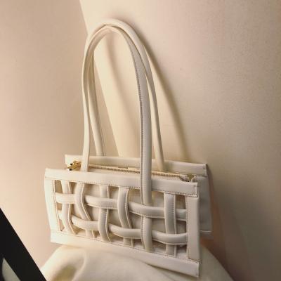 【南风】ins小众款华夫格新款手提包