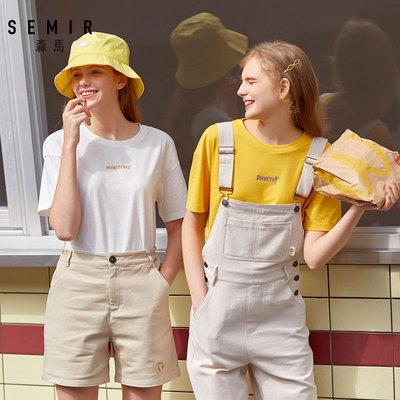 森马短袖夏季新款圆领韩版显瘦t恤
