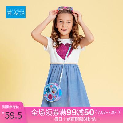 北美绮童堡童装2020夏季新款连衣裙