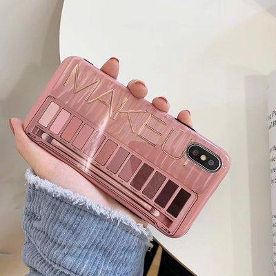 网红眼影盘苹果X手机壳iphone XS MAX XR女款6s潮壳适用7p/8plus