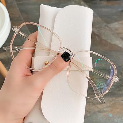 超轻眼镜架眼睛框镜架男女可配近视护眼平光镜透明眼镜框大脸显瘦