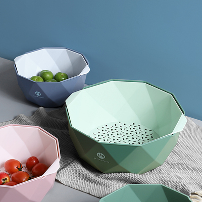 厨房沥水篮创意现代客厅水果水果盘