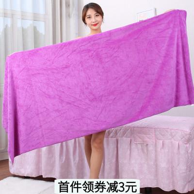 美容院浴巾床单大毛巾铺床吸水速干