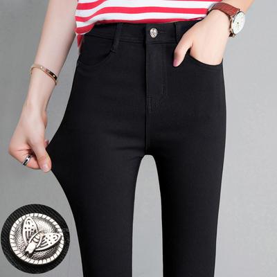 打底裤女外穿夏季薄款九分小脚黑裤2020新款高腰显瘦黑色铅笔魔术