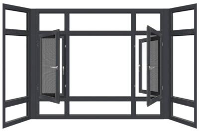 太原隔音窗户加装三层玻璃夹胶断桥铝合金门窗封阳台卧室窗定制