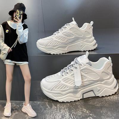 老爹鞋ins潮女鞋子2020年新款秋冬单鞋百搭爆款运动休闲秋季女鞋