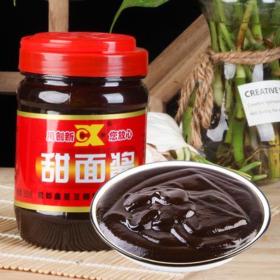 350g创新牌罐装成都小面葱京甜面酱