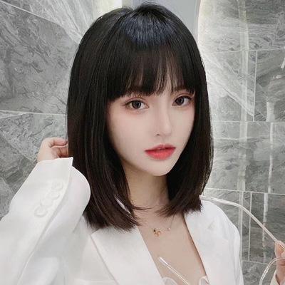 女真人发丝漫画刘海中长发全假发
