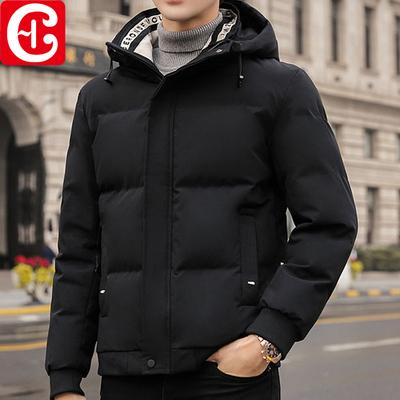 棉衣男士秋冬季外套2020新款爆款潮流短款加厚羽绒棉服工装棉袄潮
