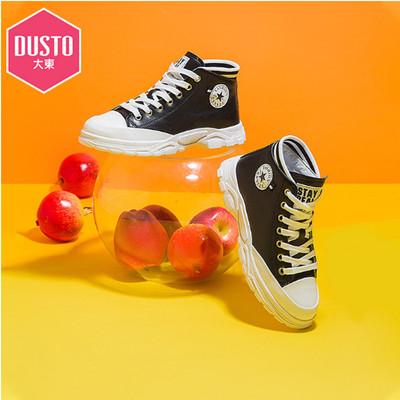 dusto 2019秋冬新款休闲低跟运动鞋