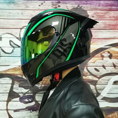 艾狮摩托车男女电动个性酷冬季全盔