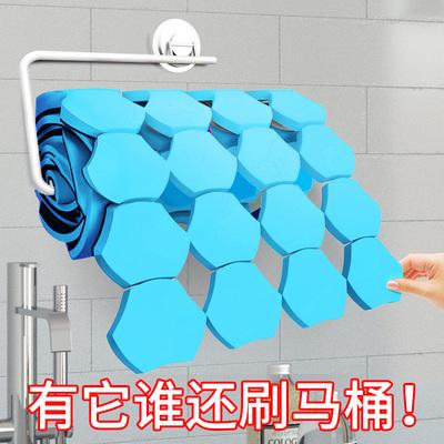 宝家洁一次性马桶刷厕所长柄刷子