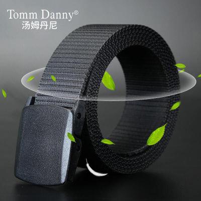 汤姆丹尼男女帆布休闲潮牛仔裤腰带