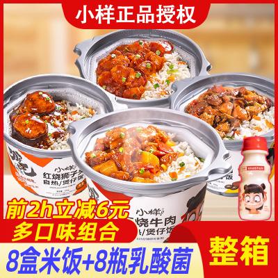 小样自热米饭8盒方便懒人煲仔饭