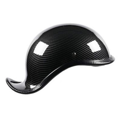 lvcool摩托车哈雷瓢盔头盔