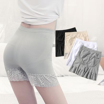 夏季安全裤防走光女蕾丝内裤三分短裤无痕夏季薄款打底裤