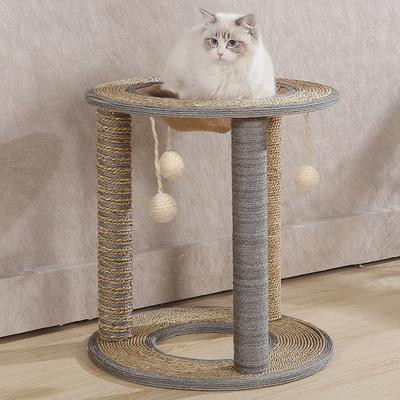 四季筒用品猫爬架猫抓板猫磨爪跳台