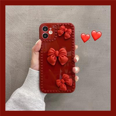 在逃公主蝴蝶结 mini苹果11年手机壳