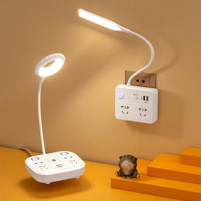 智能led台灯插座一体式拖线板扦座
