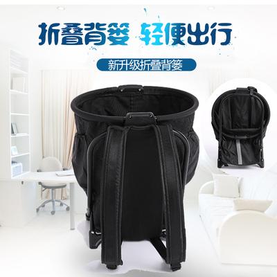 购物置物背篼可折叠多功能背篓背包