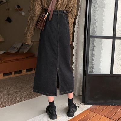 大码微胖mm宽松显瘦梨形身材半身裙