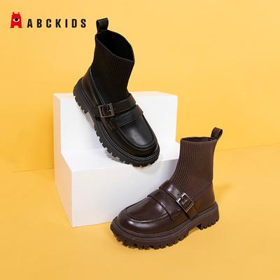 abckids 2021秋季新款儿童马丁靴