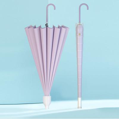 16长柄伞双人直杆防风雨伞