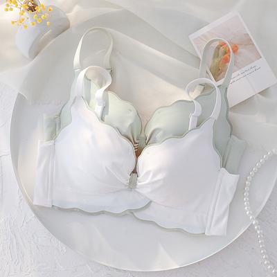 薄款调整型收副乳无钢圈胸罩