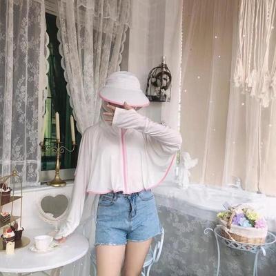 草柴好物分享:防晒衣女新款夏季薄款防紫外线透气冰丝外套骑车防晒罩衫长袖
